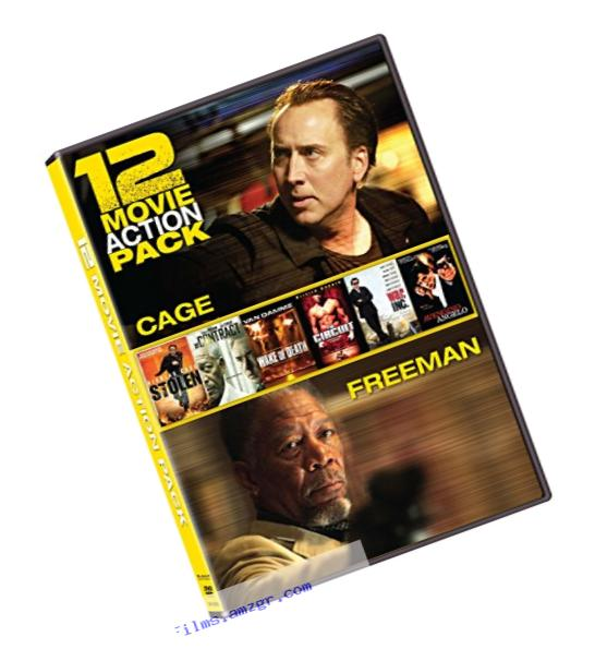 12 Film Action Pack